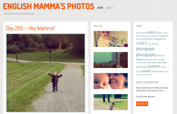 english mamma photo blog