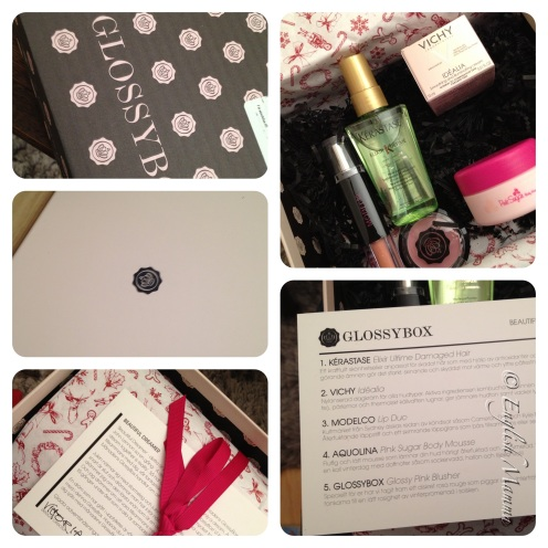 An English Mamma in Stockholm: November 2012 Glossybox