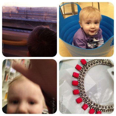 An English Mamma in Stockholm: week 3 necklace baby tub snow