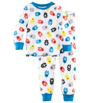 An English Mamma in Stockholm: H&M robot pyjamas toddler Hennes Mauritz