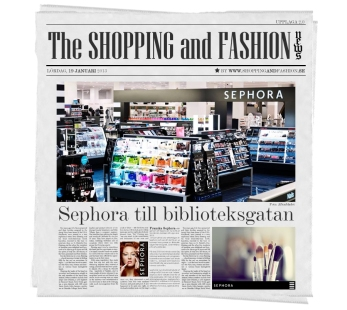 sephora biblioteksgatan shopping and fashion news sverige stockholm