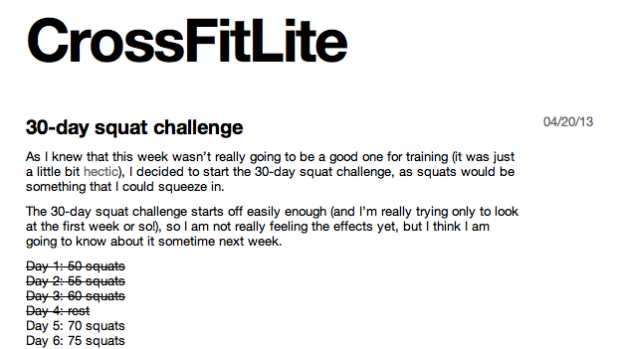 CrossFitLite: crossfit training tumblr blog
